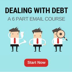 dealing with debt email series