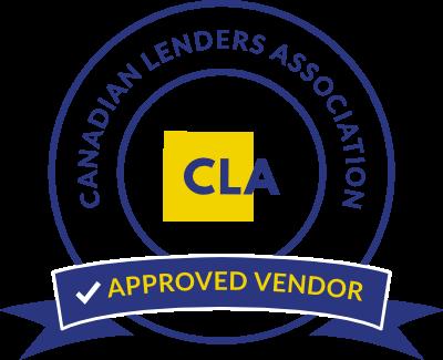 Canadian Lender's Association Approved Vendor