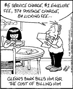 Bank greed