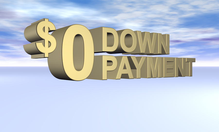 No Down Payment Mortgages
