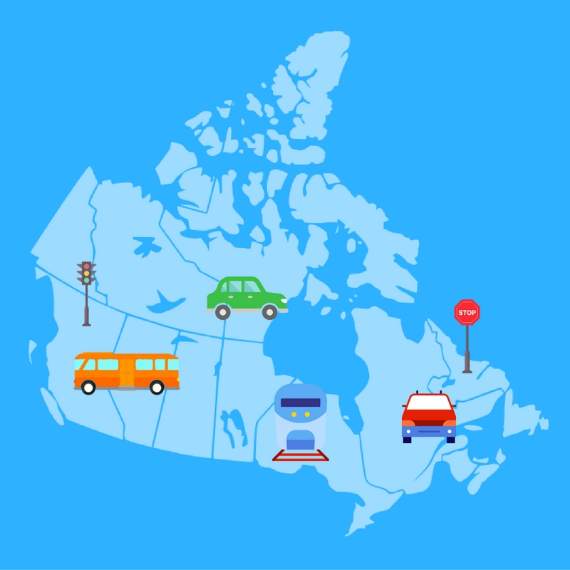 Infographic: Commuting to Work in Canada