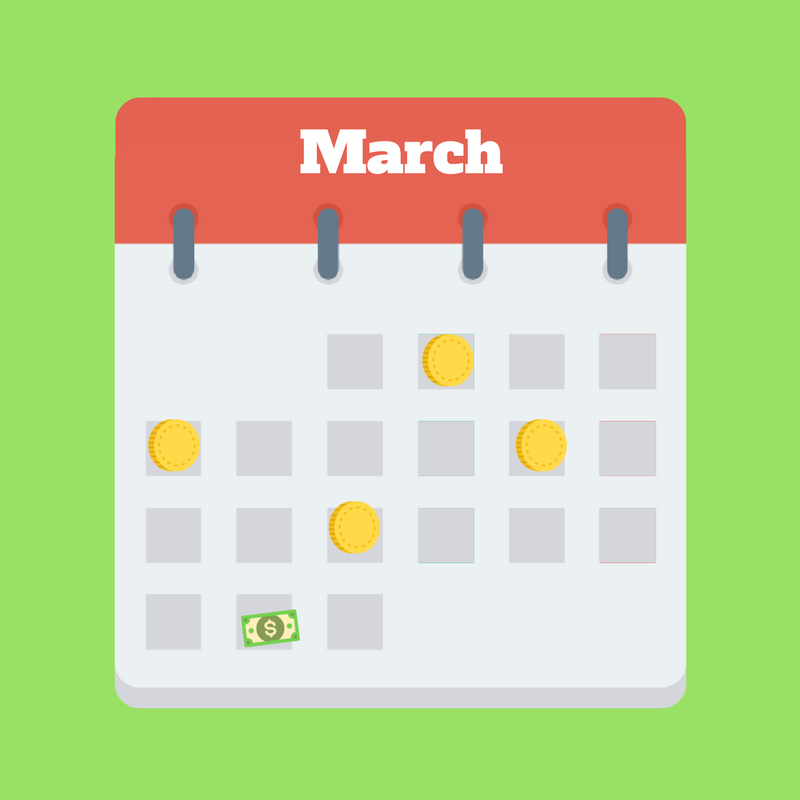 5 Ways to Save an Extra $100 Before The End of March