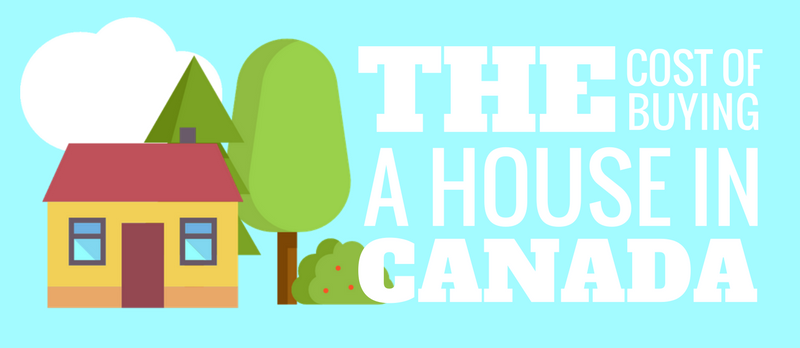 the cost of buying a house in Canada