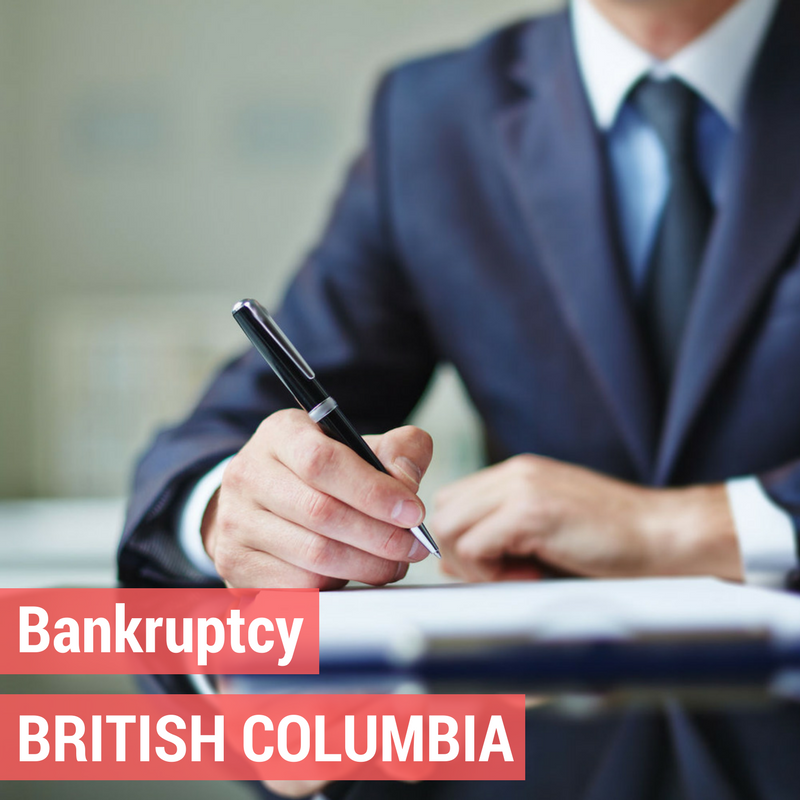 Bankruptcy in British Columbia