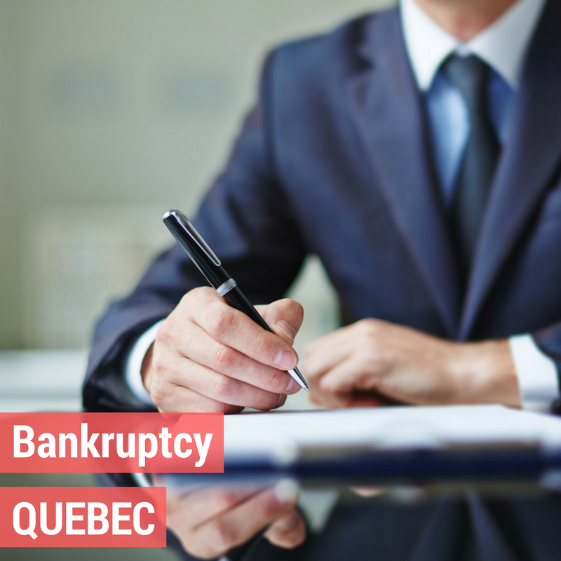 Bankruptcy in Quebec