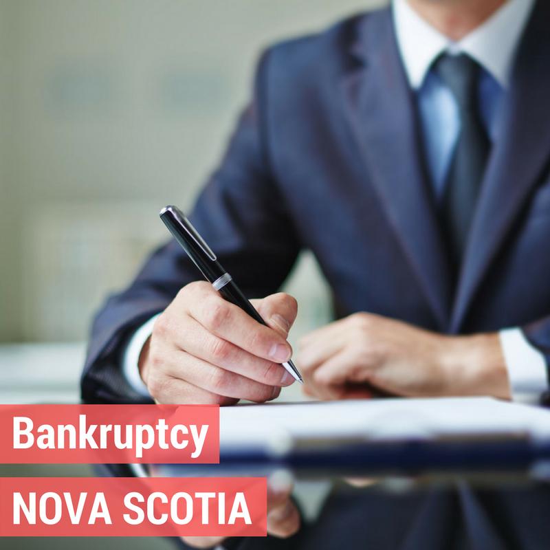 Bankruptcy in Nova Scotia