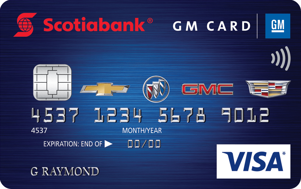 Scotiabank® GM® VISA