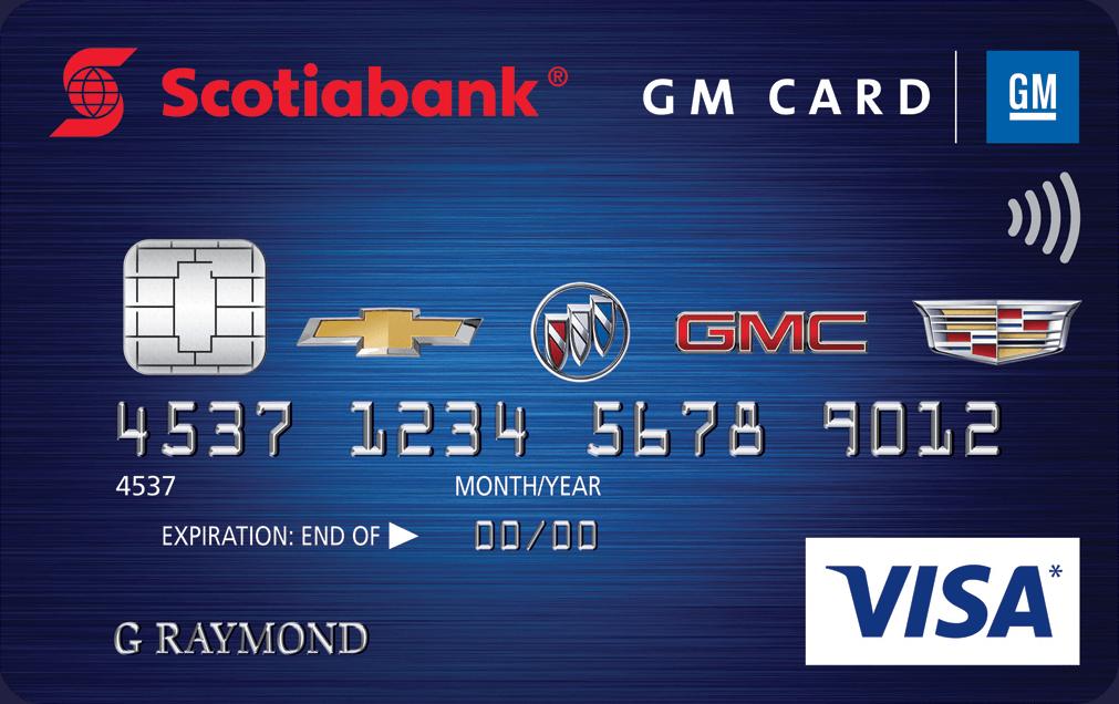 Scotiabank® GM® VISA