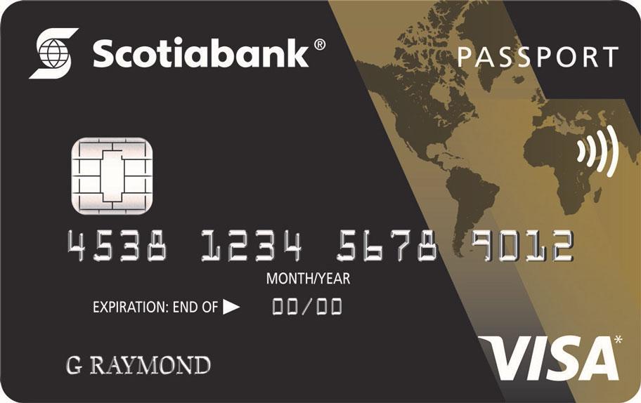 ScotiaGold Passport® Visa Card