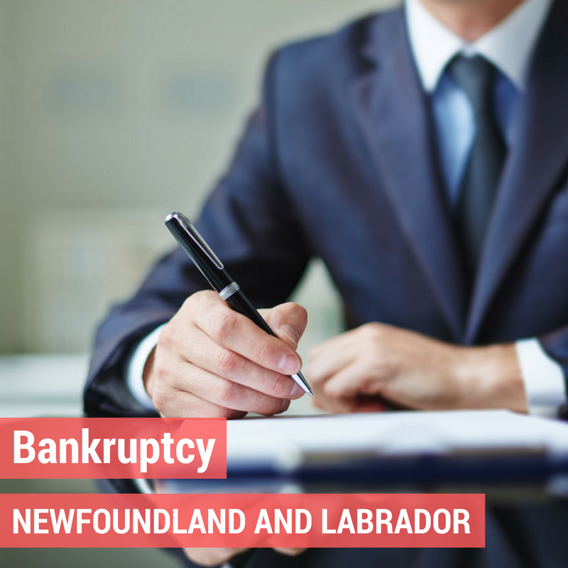 Bankruptcy in Newfoundland and Labrador