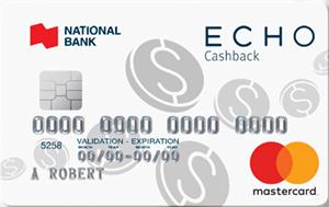 ECHO® Cashback MasterCard®