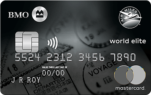 BMO® AIR MILES® World Elite® MasterCard®