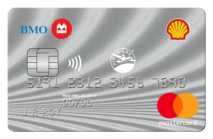 Shell AIR MILES MasterCard from BMO