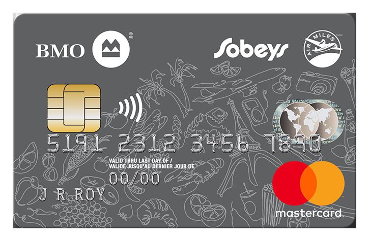 BMO® Sobeys AIR MILES® MasterCard®