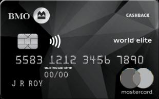 BMO CashBack® World Elite® MasterCard®