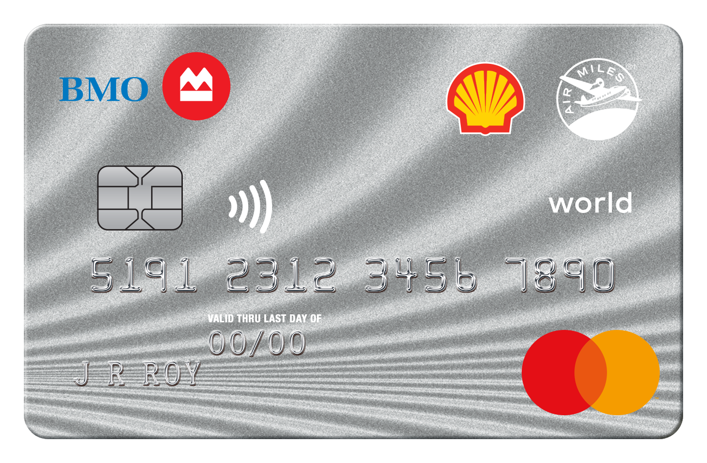 Shell AIR MILES World MasterCard from BMO