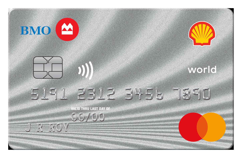 Shell CashBack World MasterCard® from BMO