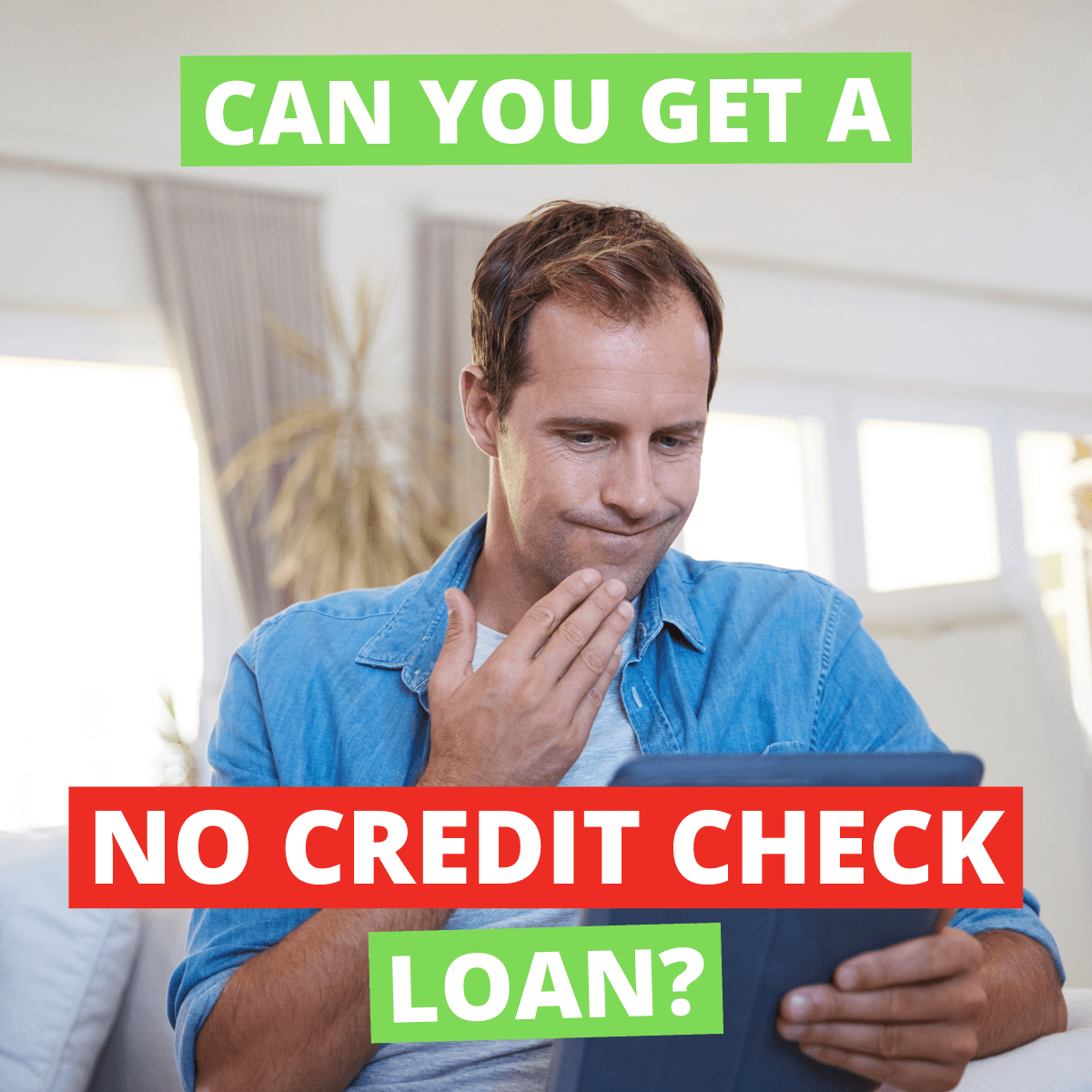 Lookout Can You Get A No Credit Check Loan In Canada?