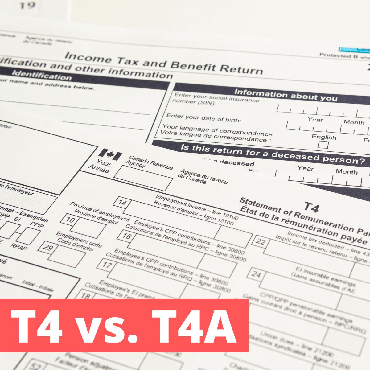 T4 vs. T4A