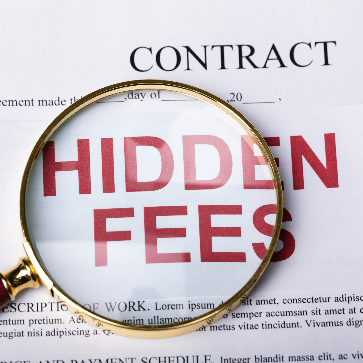 Watch Out For Hidden Fees in Personal Loan Contracts