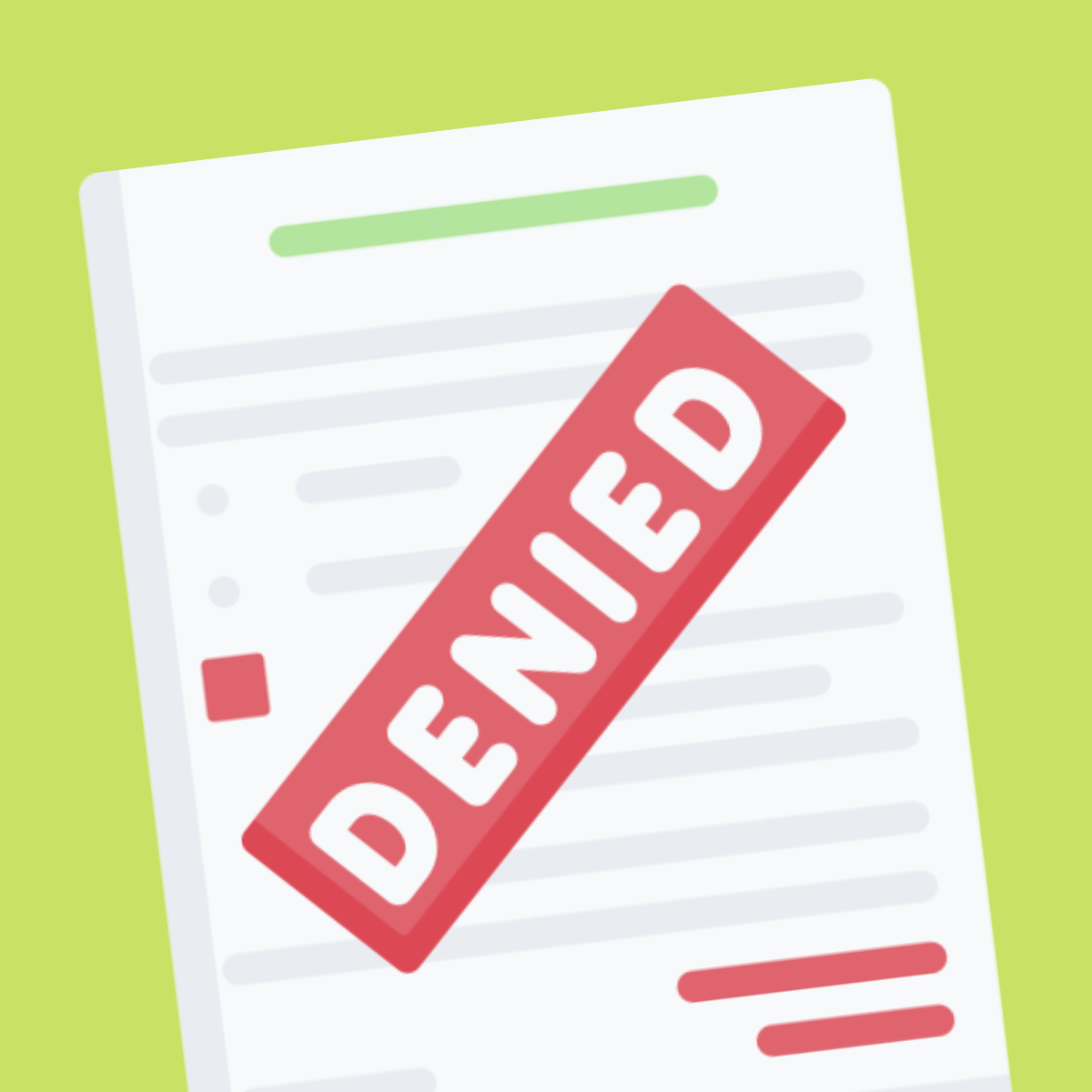 Reasons Your Insurance Claim Got Denied