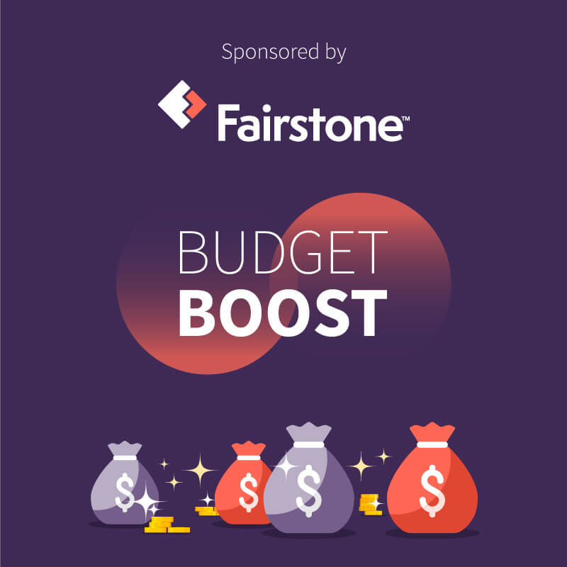 Fairstone Is Giving 22 Canadians A Budget Boost Of Up To $5,000