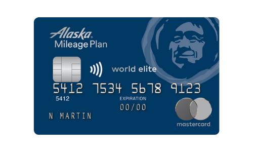MBNA Alaska Airlines World Elite Mastercard